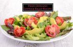 Paleo Avocado Lettuce Salad