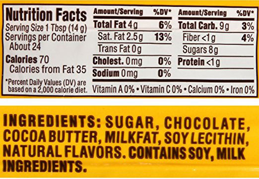 Nestle Chocolate Chip ingredients
