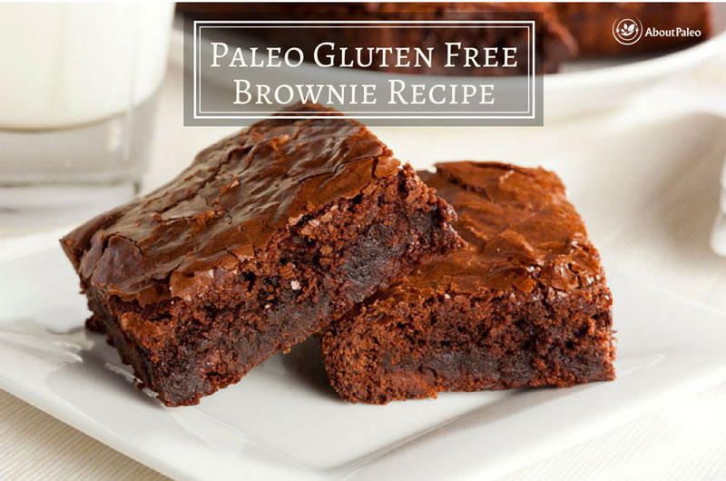 Paleo Gluten Free Brownie Recipe
