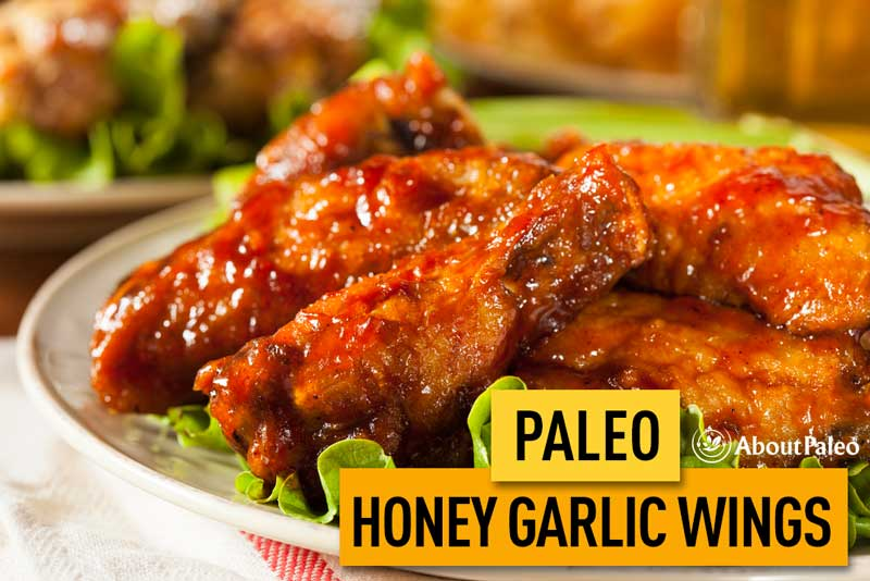 Paleo Honey Garlic Wings